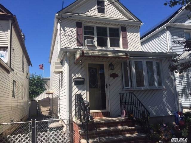 3 BR,  1.50 BTH  Colonial style home in Maspeth