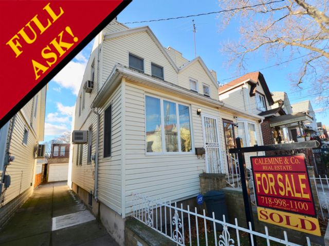 3 BR,  1.50 BTH  2 story style home in East Flatbush