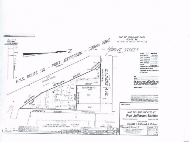 Lot <b>Size:</b> .77  Land style home in Port Jefferson Station