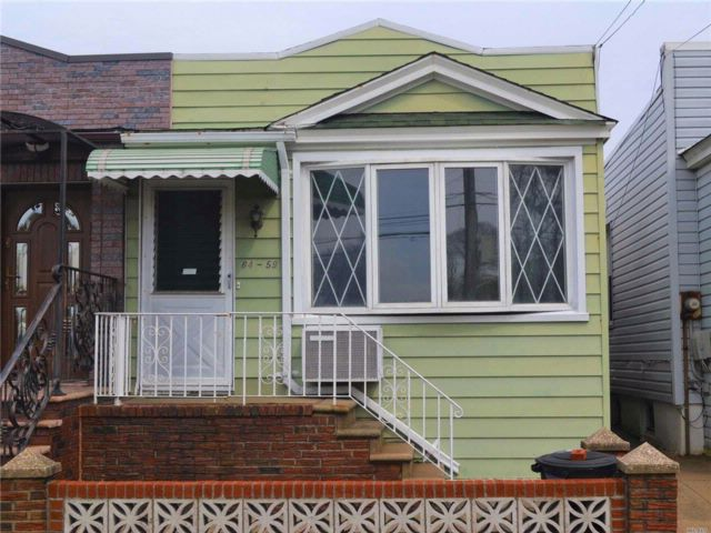 2 BR,  1.00 BTH  Ranch style home in Maspeth