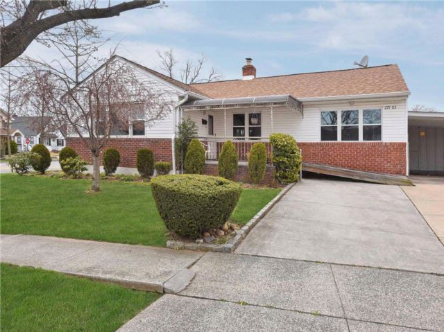 3 BR,  2.00 BTH Ranch style home in New Hyde Park