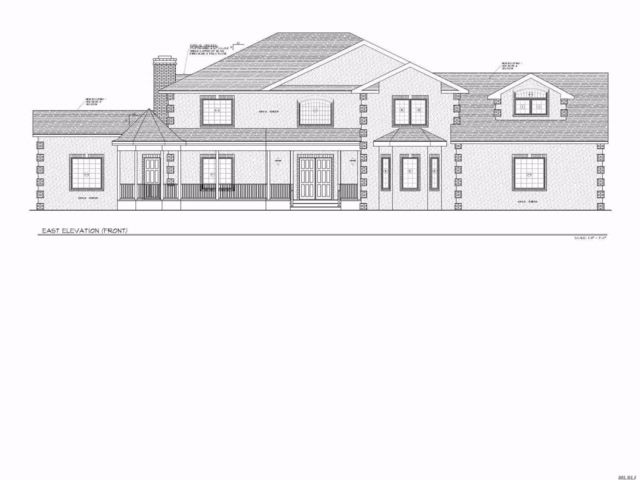 Lot <b>Size:</b> 200 x 266  Land style home in Manorville