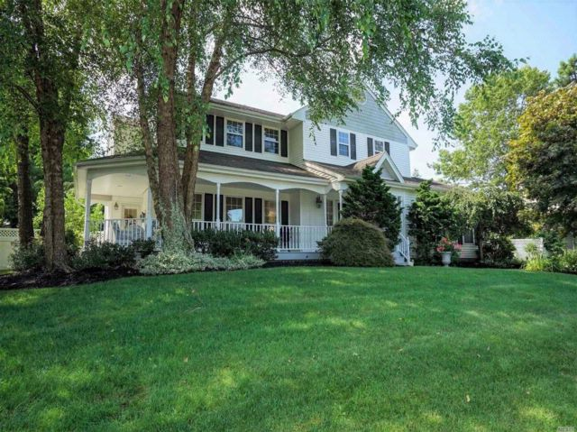 4 BR,  3.50 BTH  Colonial style home in South Setauket