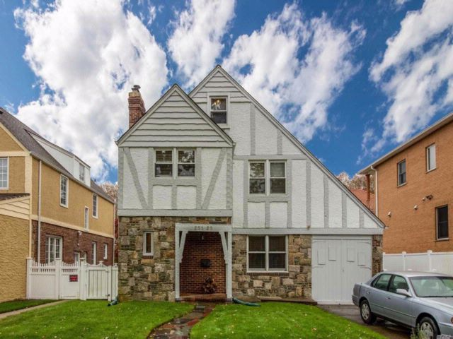3 BR,  3.50 BTH  Tudor style home in Little Neck