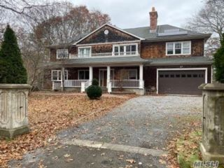 4 BR,  4.00 BTH Colonial style home in East Hampton