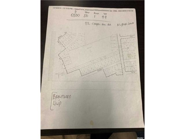 Lot <b>Size:</b> 65x1025 Land style home in Brentwood
