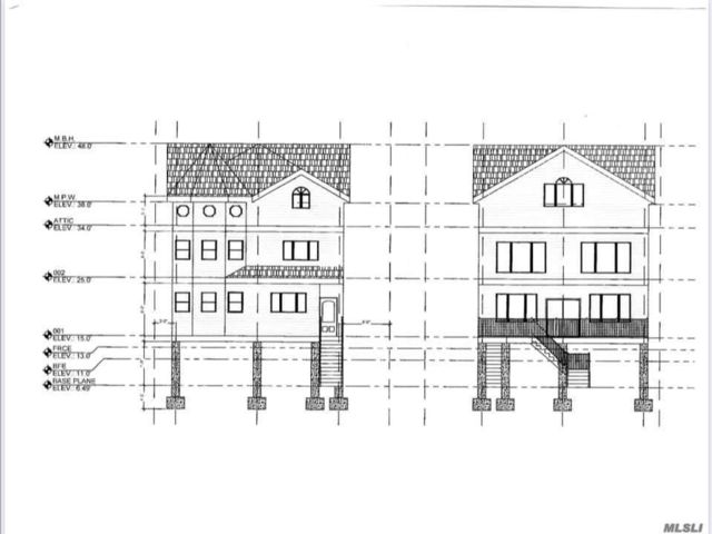 Lot <b>Size:</b> 80 x 106 Land style home in Arverne