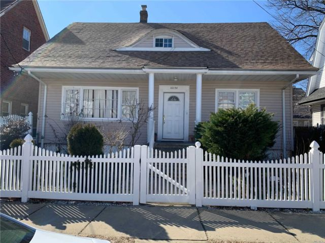 4 BR,  1.00 BTH  Cape style home in Queens Village