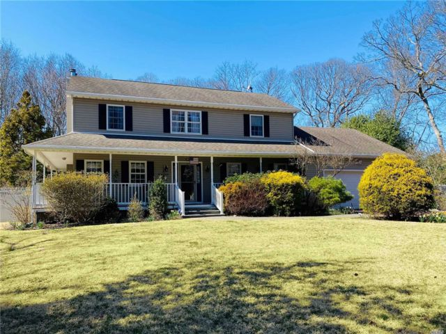 4 BR,  3.00 BTH  Colonial style home in Center Moriches