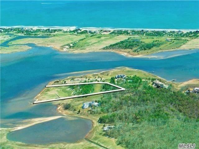 Lot <b>Size:</b> 6.45 acres  Land style home in Quogue