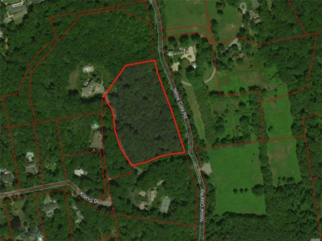 Lot <b>Size:</b> 6.82 Acres Land style home in Oyster Bay Cove
