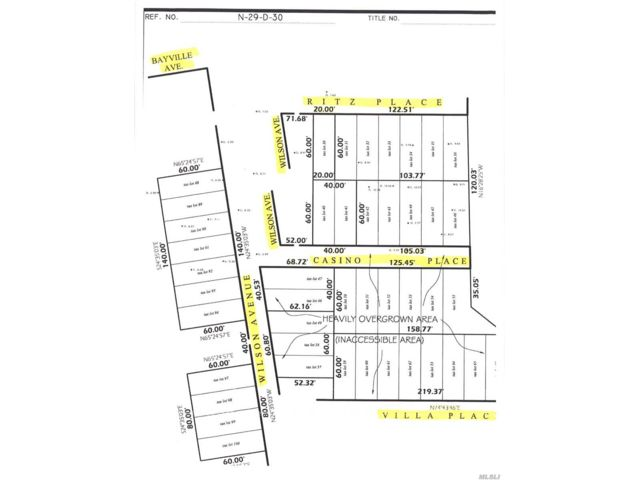 Lot <b>Size:</b> 55000 Land style home in Bayville