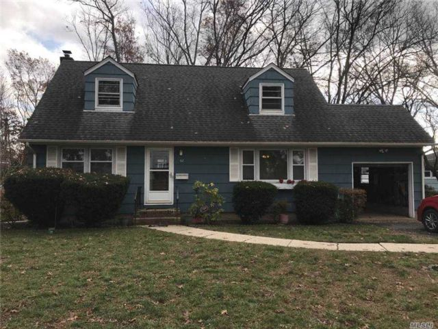 3 BR,  1.00 BTH  Cape style home in Deer Park