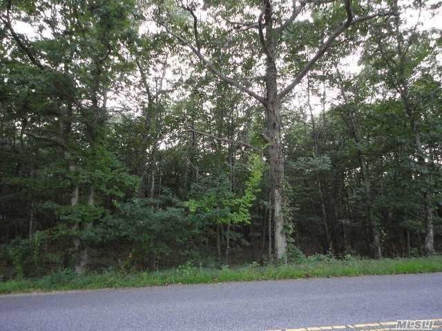 Lot <b>Size:</b> 221x986  Land style home in Manorville