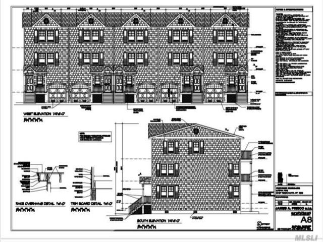 Lot <b>Size:</b> 144 X 81 IRR  Land style home in East Rockaway