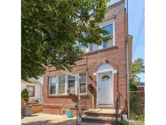 4 BR,  1.00 BTH 2 story style home in Ozone Park