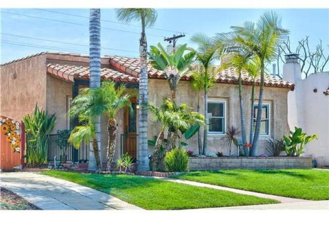 3 BR,  1.00 BTH  Spanish style home in San Diego