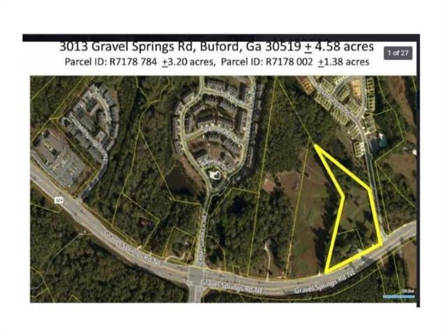 Lot <b>Size:</b> 4.73 Land style home in Buford