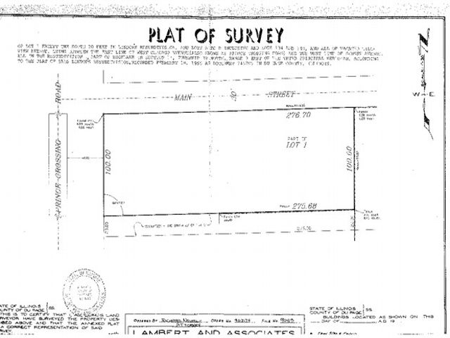 Lot <b>Size:</b> 0.63 Land style home in West Chicago