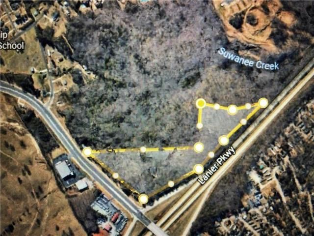 Lot <b>Size:</b> 19.5 Land style home in Buford