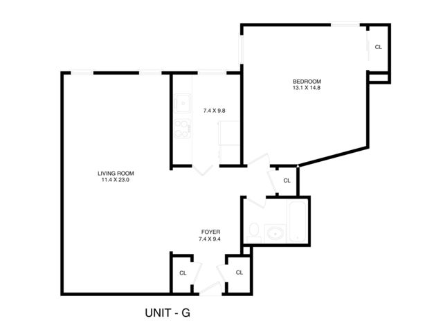 1 BR,  1.00 BTH Rental style home in Marine Park