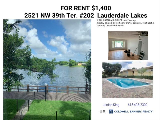 2 BR,  1.00 BTH  style home in Lauderdale Lakes