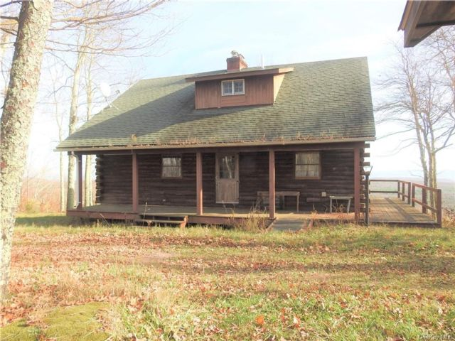 2 BR,  2.00 BTH Log style home in Denning