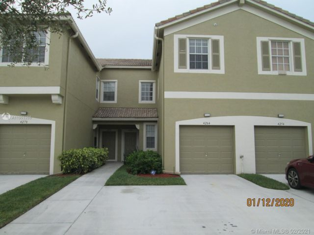 3 BR,  2.50 BTH Townhouse style home in Miramar