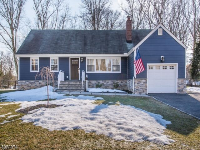 4 BR,  2.00 BTH Expanded ranch style home in North Caldwell