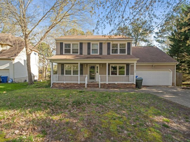 4 BR,  2.50 BTH Colonial style home in Newport News