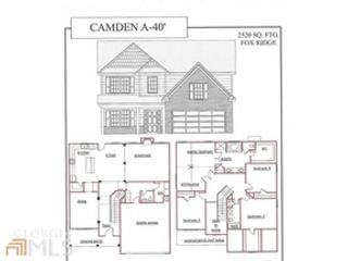 6 BR,  5.00 BTH Traditional style home in Newnan