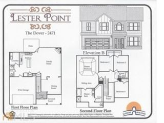 5 BR,  4.00 BTH Single family style home in McDonough